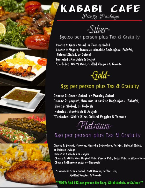 restaurant; Persian Restaurant; Food