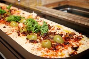 hummus buffet
